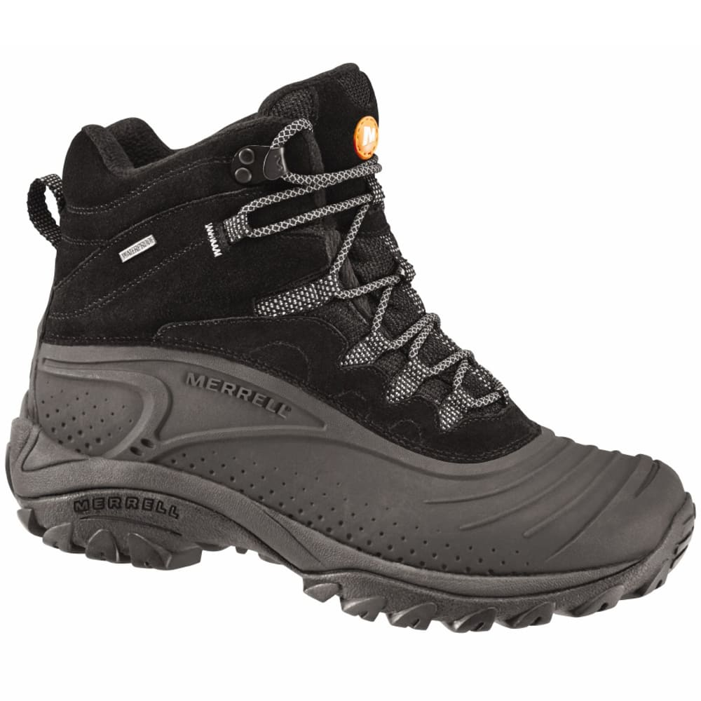 MERRELL Men's Storm Trekker 8 Winter Boots - BLACK