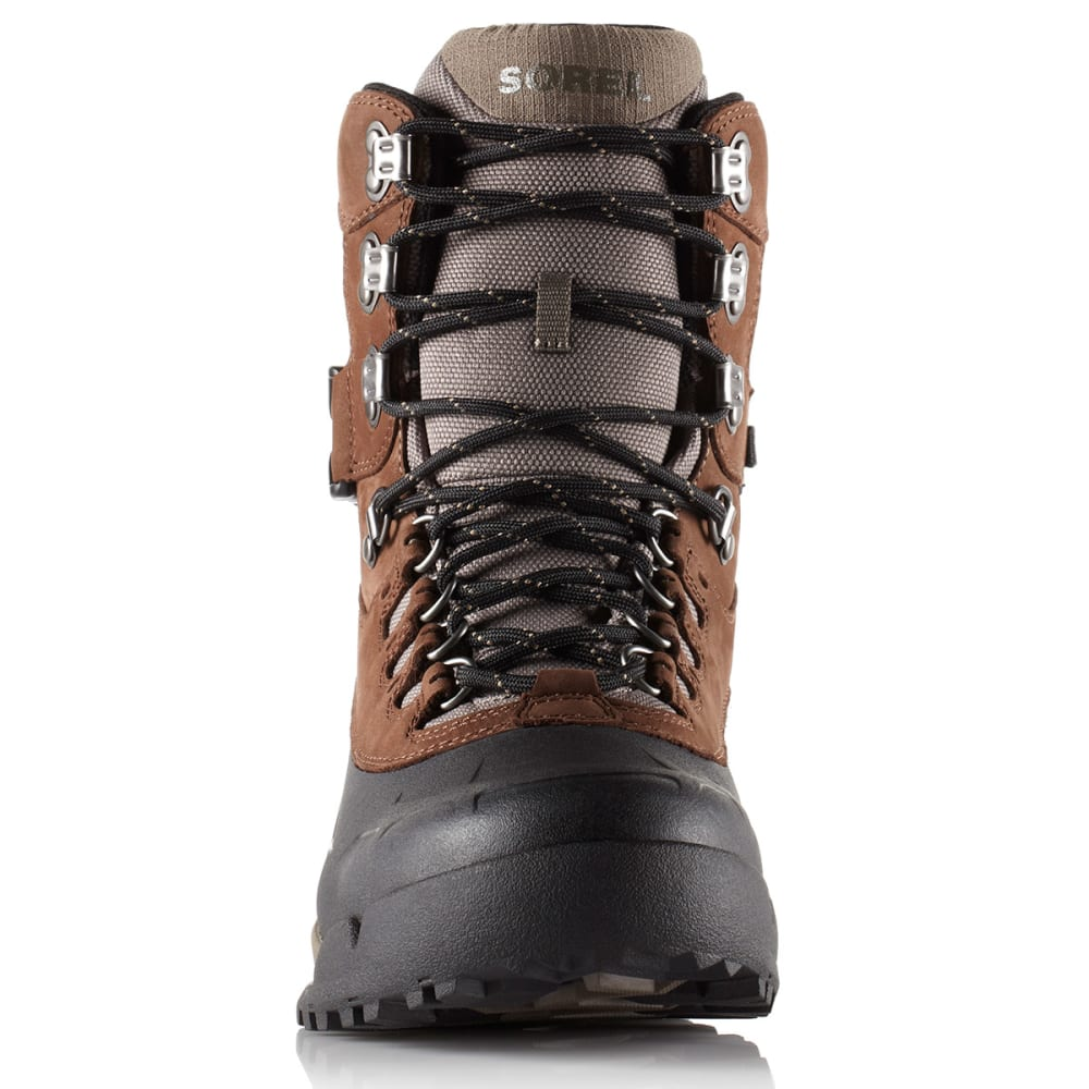 SOREL Men's Paxson Waterproof Boots, Tall - TOBACCO