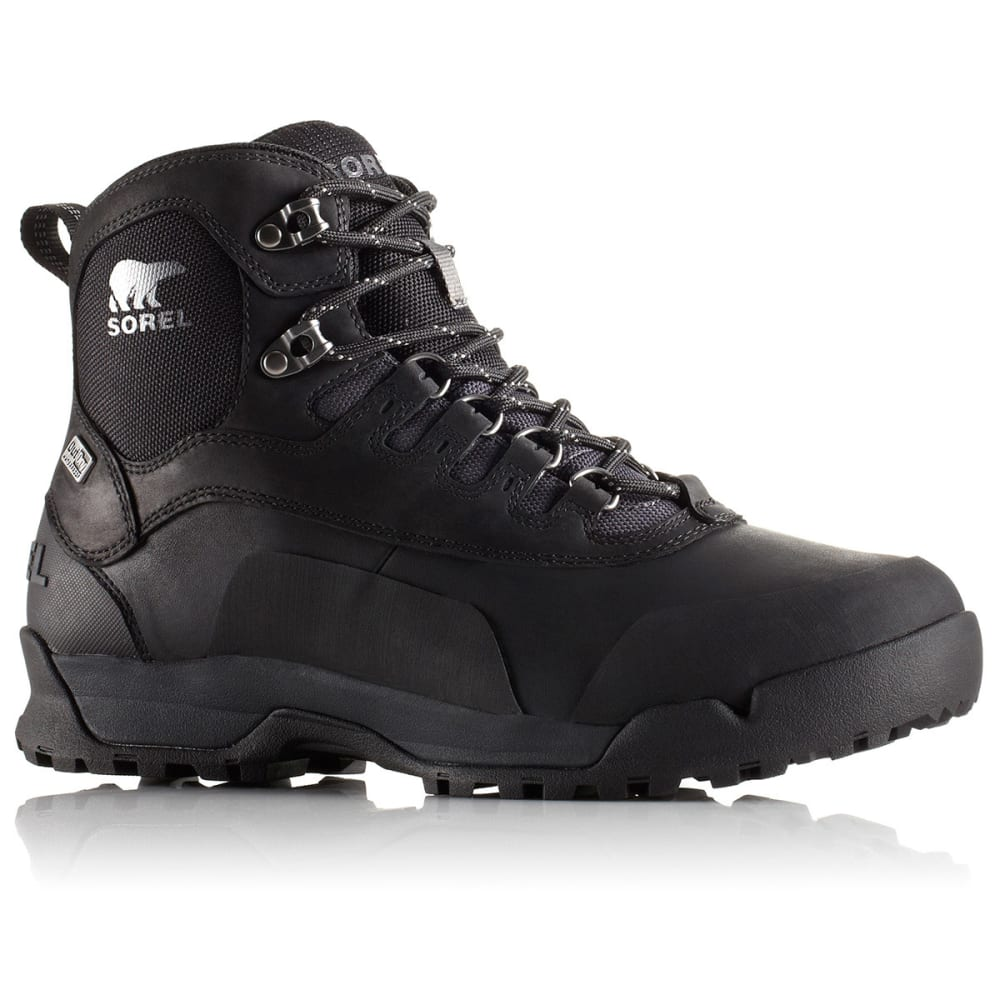 SOREL Men's Paxson Outdry 6 in. Hiking Boot - BLACK