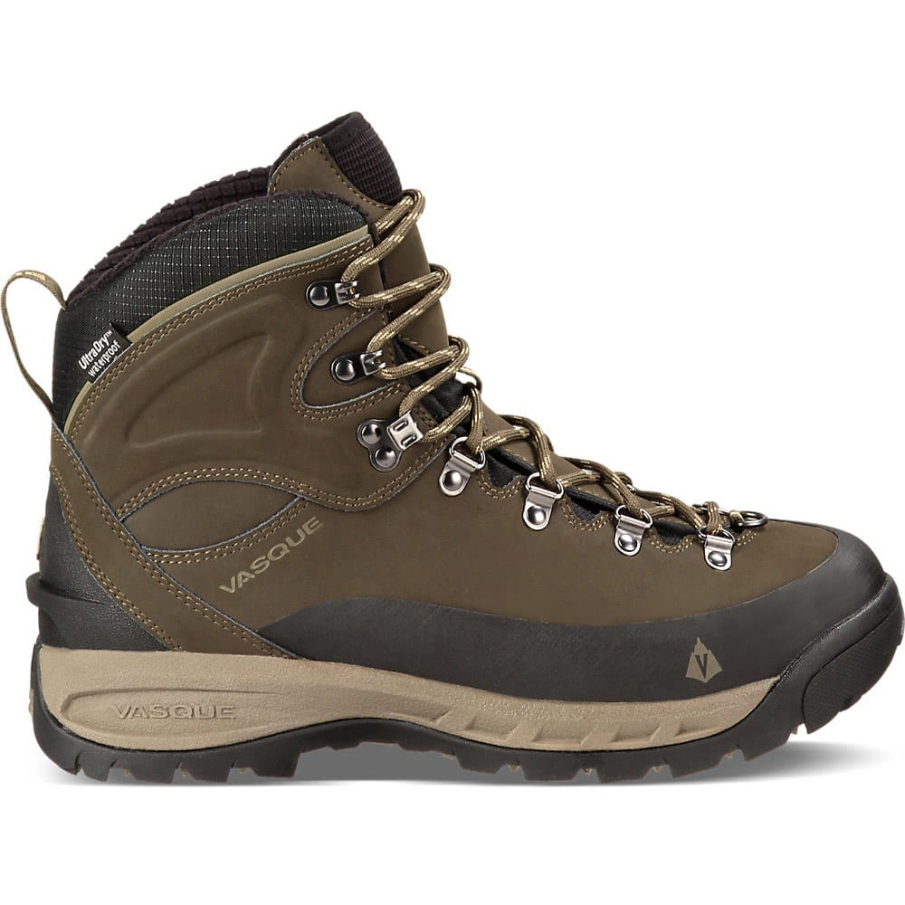 VASQUE Men's Snowblime UltraDry Hiking Boots - BLACK OLIVE