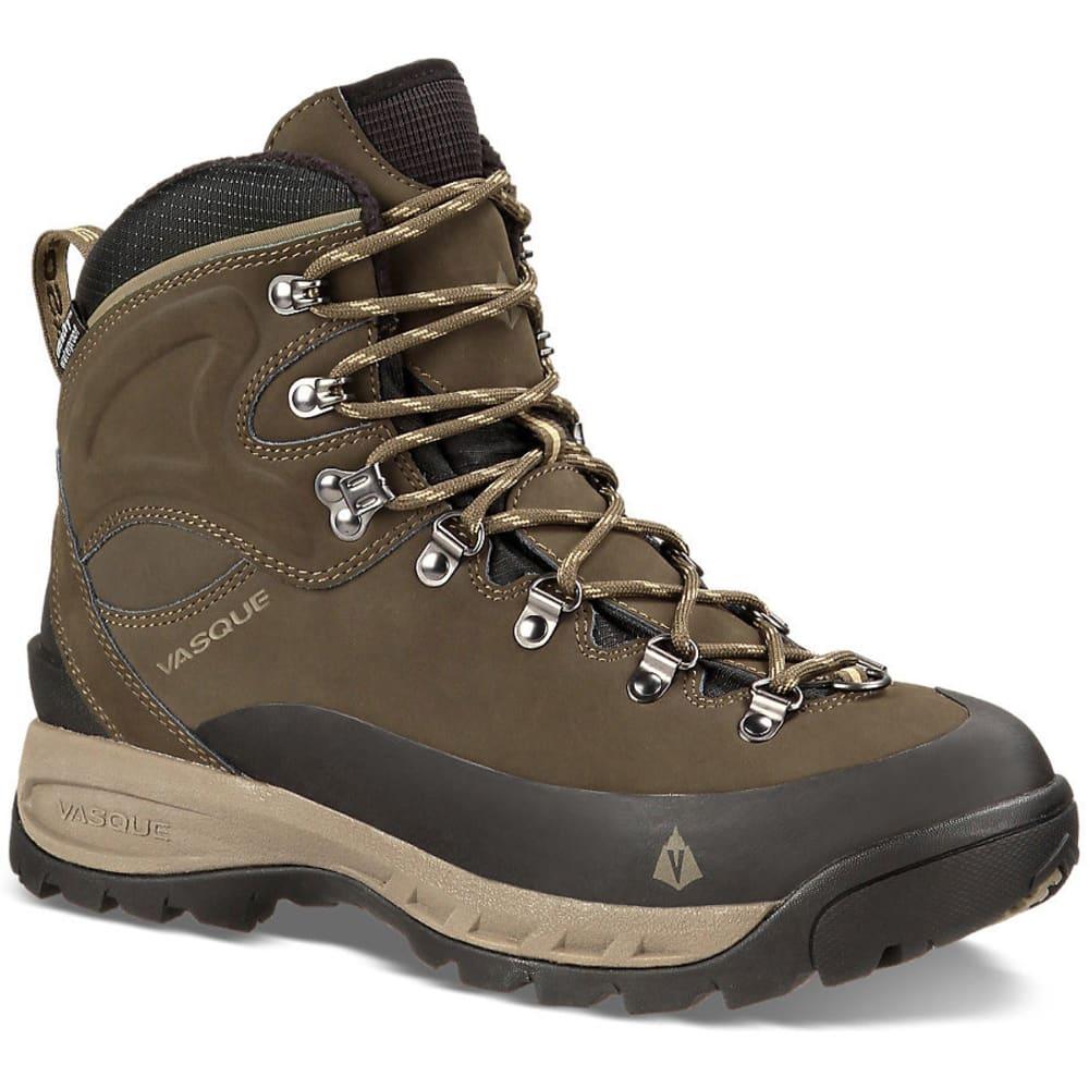VASQUE Men's Snowblime UltraDry Hiking Boots - BLACK OLIVE