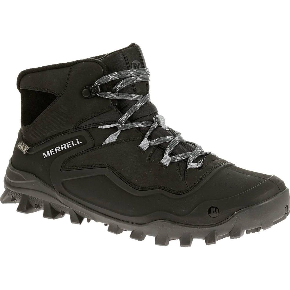 MERRELL Men's Fraxion Shell 6 Waterproof Boots, Black - BLACK