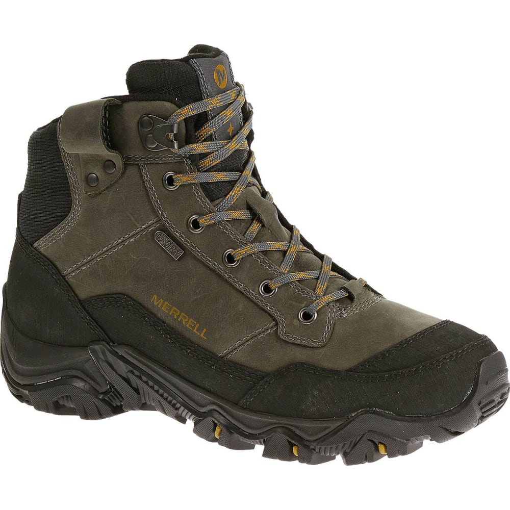 MERRELL Men's Polarand Rove Waterproof Winter Boots - CASTLE ROCK