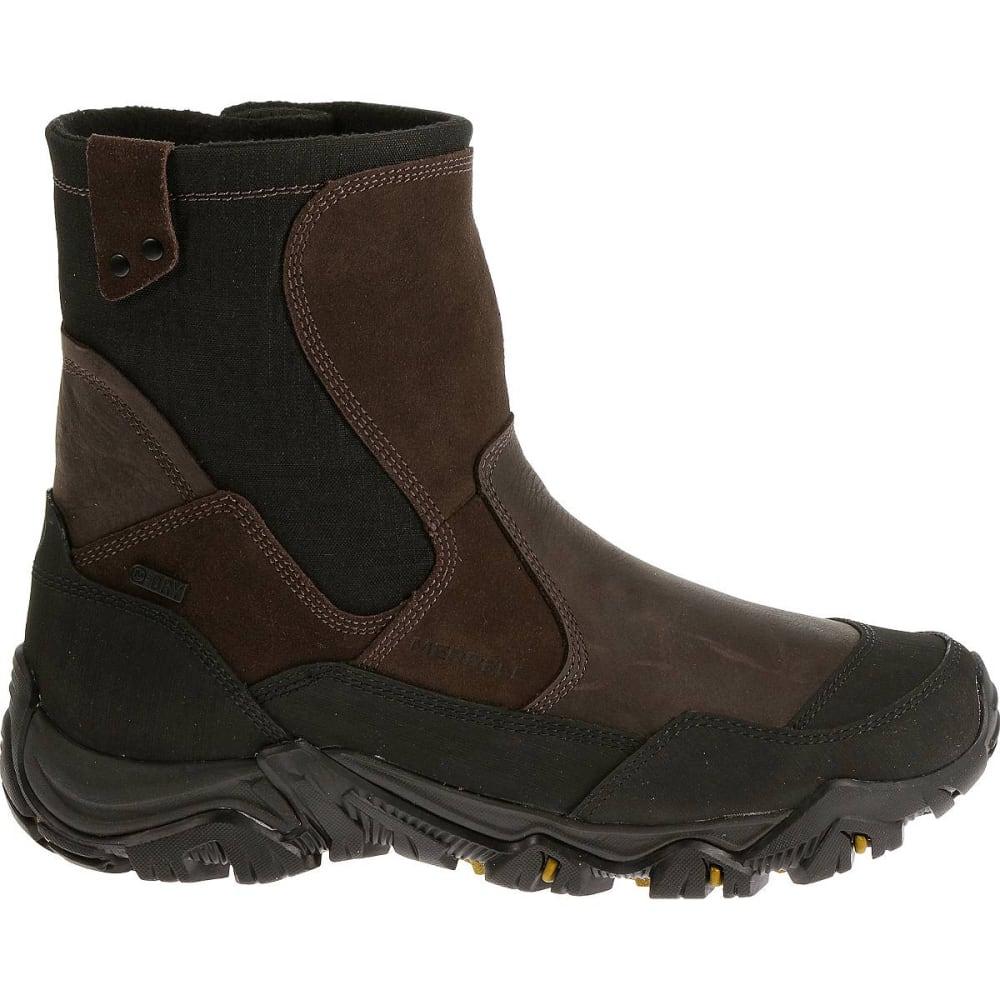 MERRELL Men's Polarand Rove Zip Waterproof Boots, Espresso - ESPRESSO