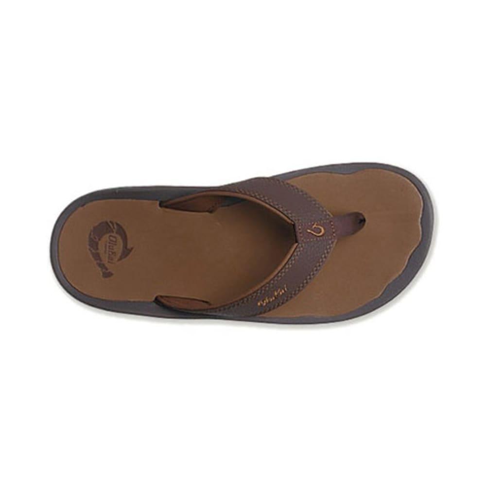 OLUKAI Men's 'Ohana Flip-Flops - DARK JAVA