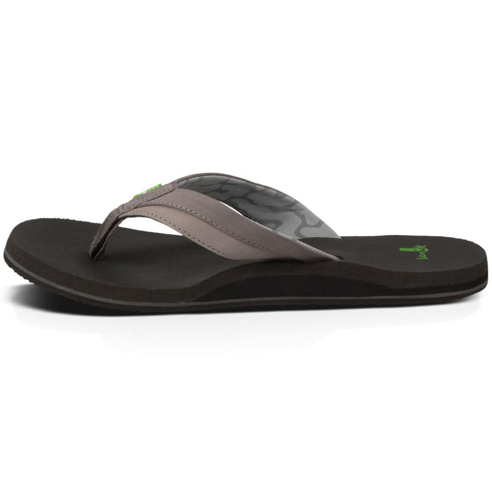 SANUK Men's Beer Cozy Light Sandals - CHARCOAL