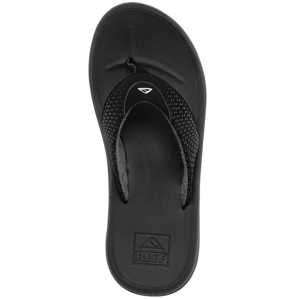 Black reef sandals - Reef Men Rsquo S Reef Rover Flip Flops Black Black