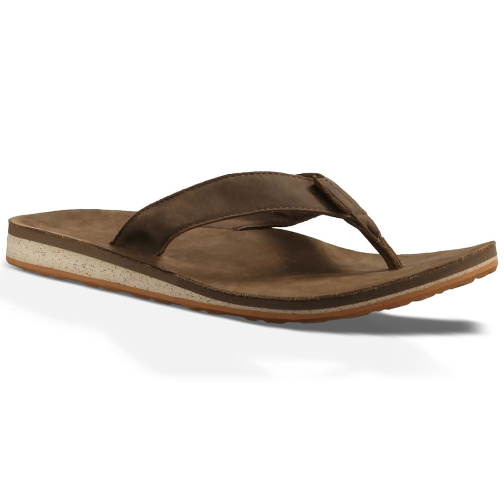 6f05d4d68 TEVA Men  39 s Classic Premium Leather Flip-Flops