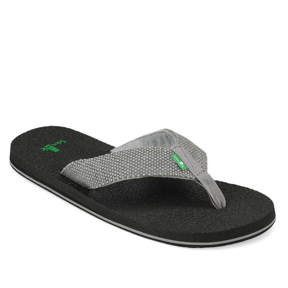SANUK Men's Yogi Four Sandals - CHARCOAL