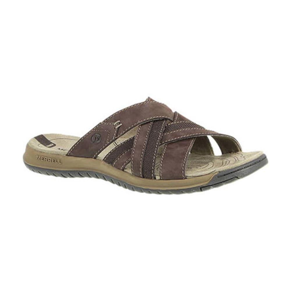merrell s traveler tilt cross slide sandals espresso