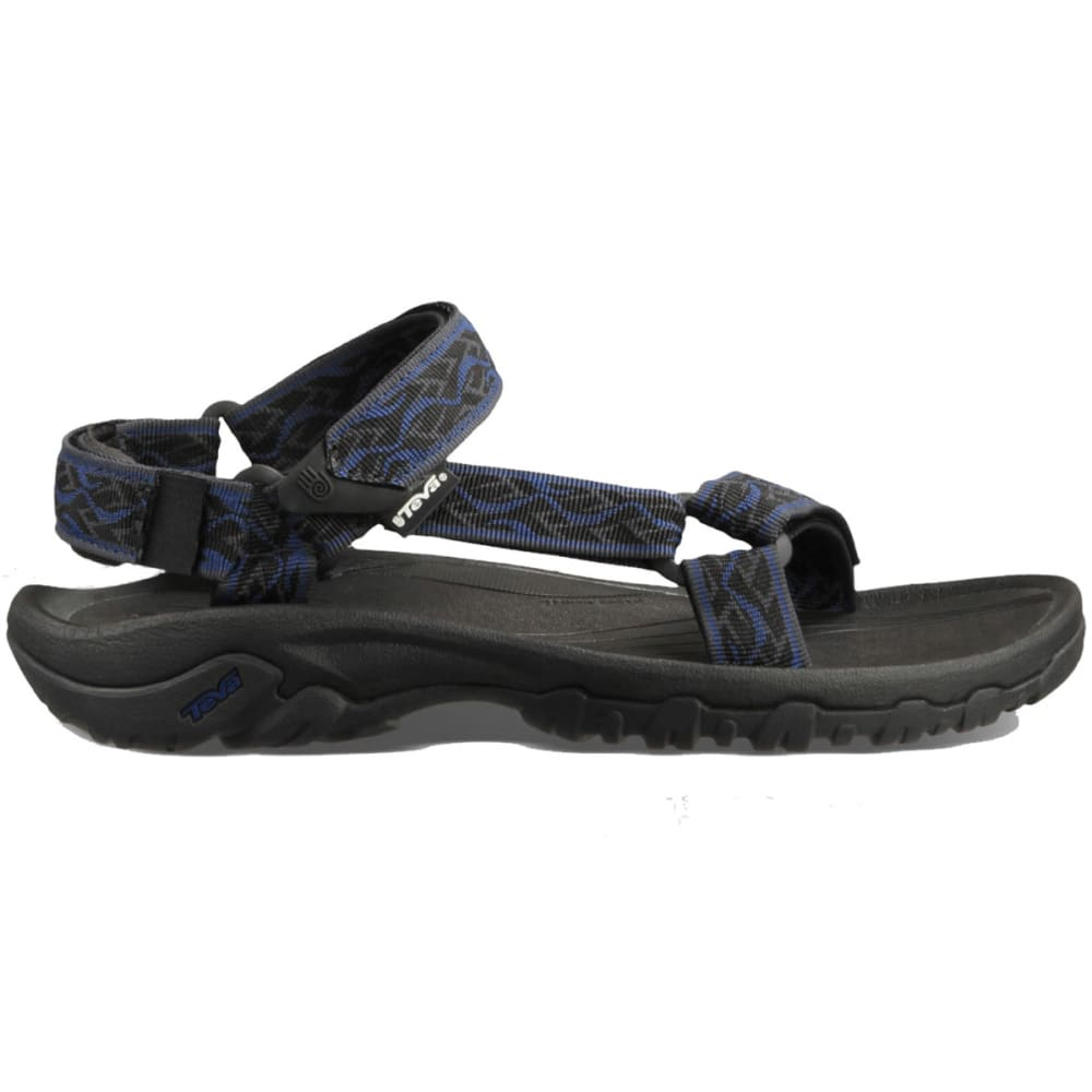 TEVA Men's Hurricane XLT Sandals, Wavy Trail/Insignia Blue - WAVY TRAIL