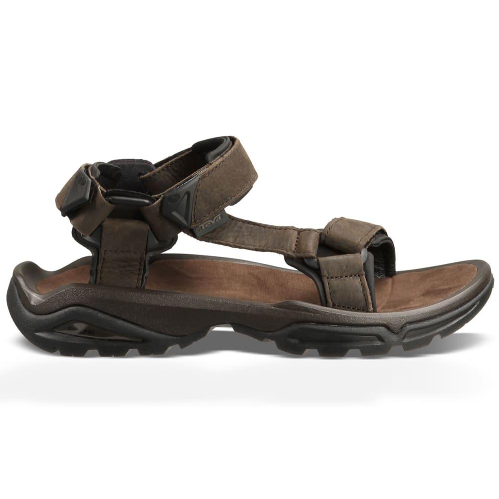 e539c7e07c27 TEVA Men  39 s Terra Fi 4 Leather Sandals - BROWN