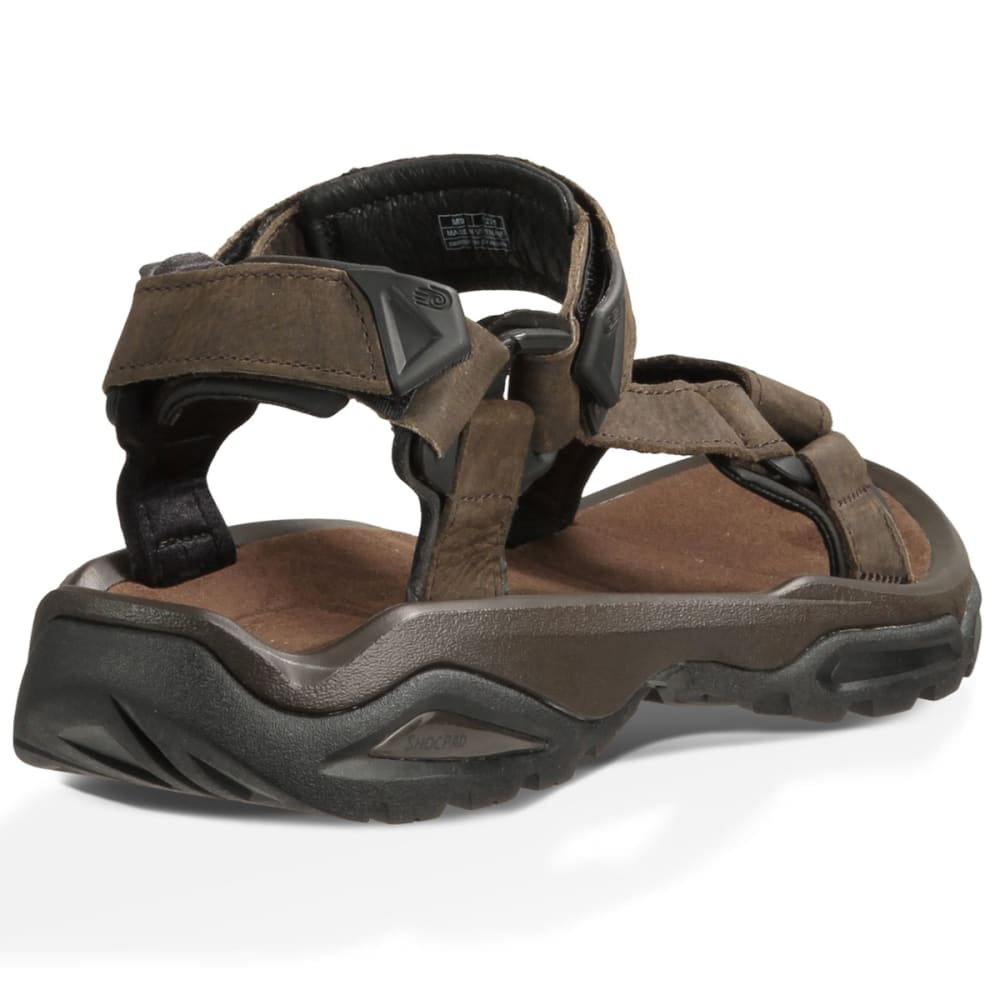 215818c6b523de TEVA Men  39 s Terra Fi 4 Leather Sandals - BROWN
