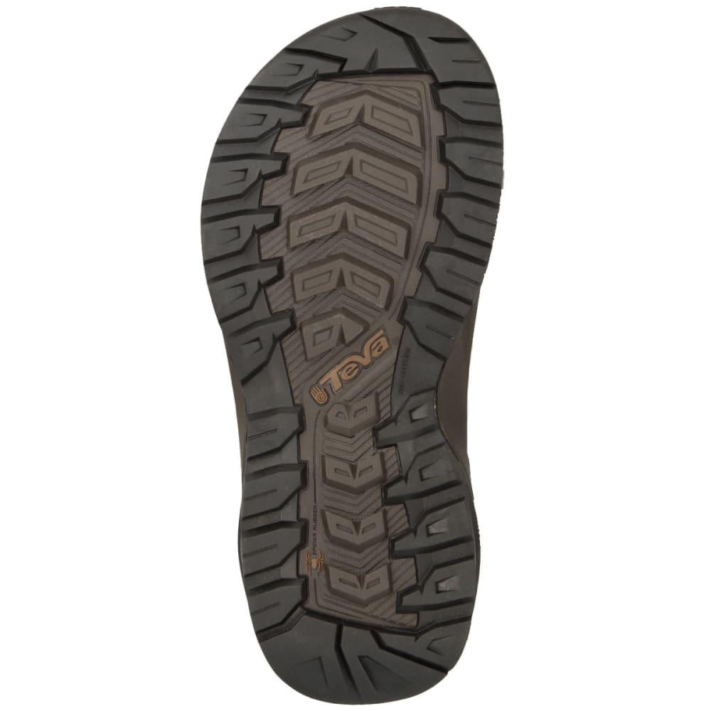 279f8931e1c8 TEVA Men  39 s Terra Fi 4 Leather Sandals - BROWN