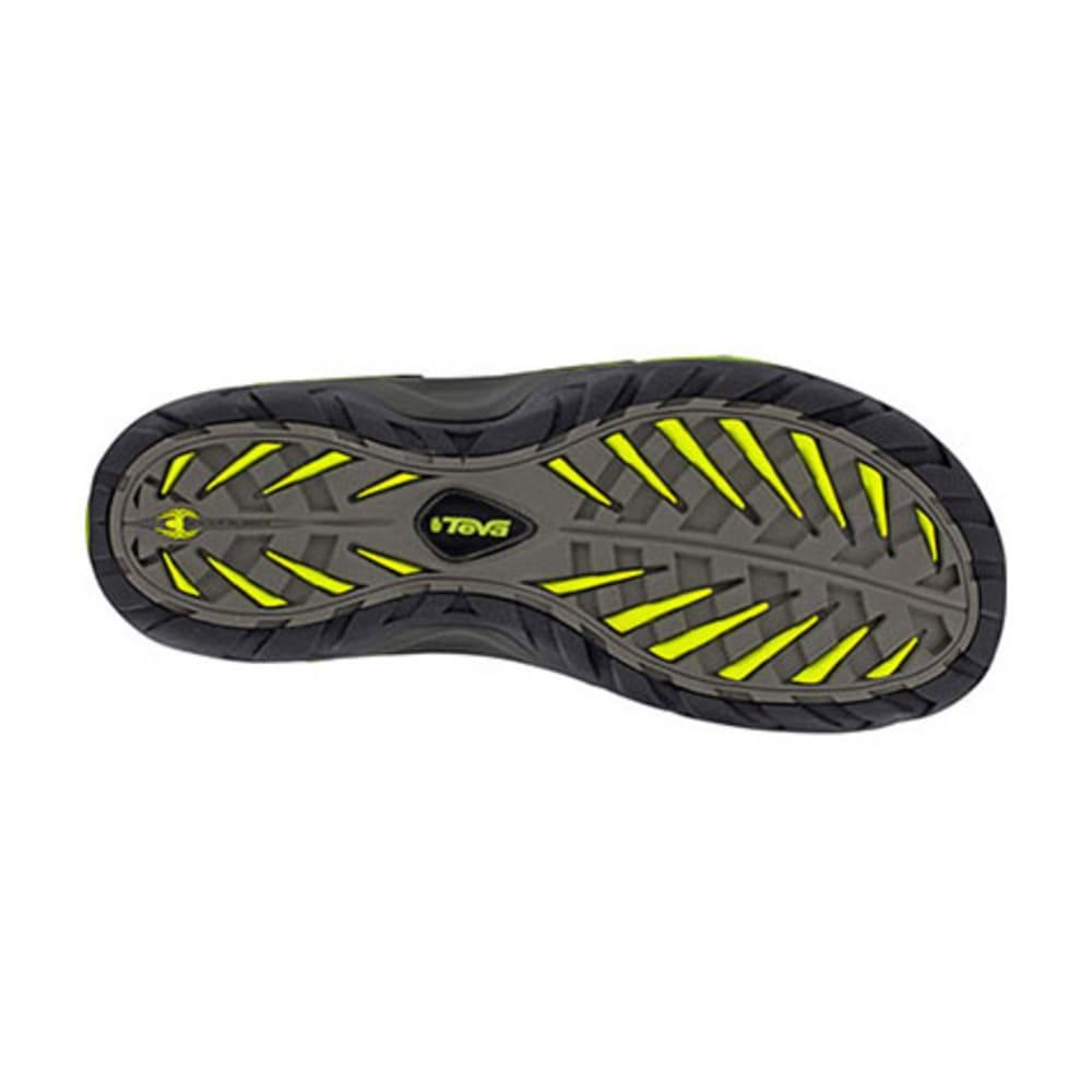 TEVA Men's Toachi 2 Sandals, Grey - CHARCOAL