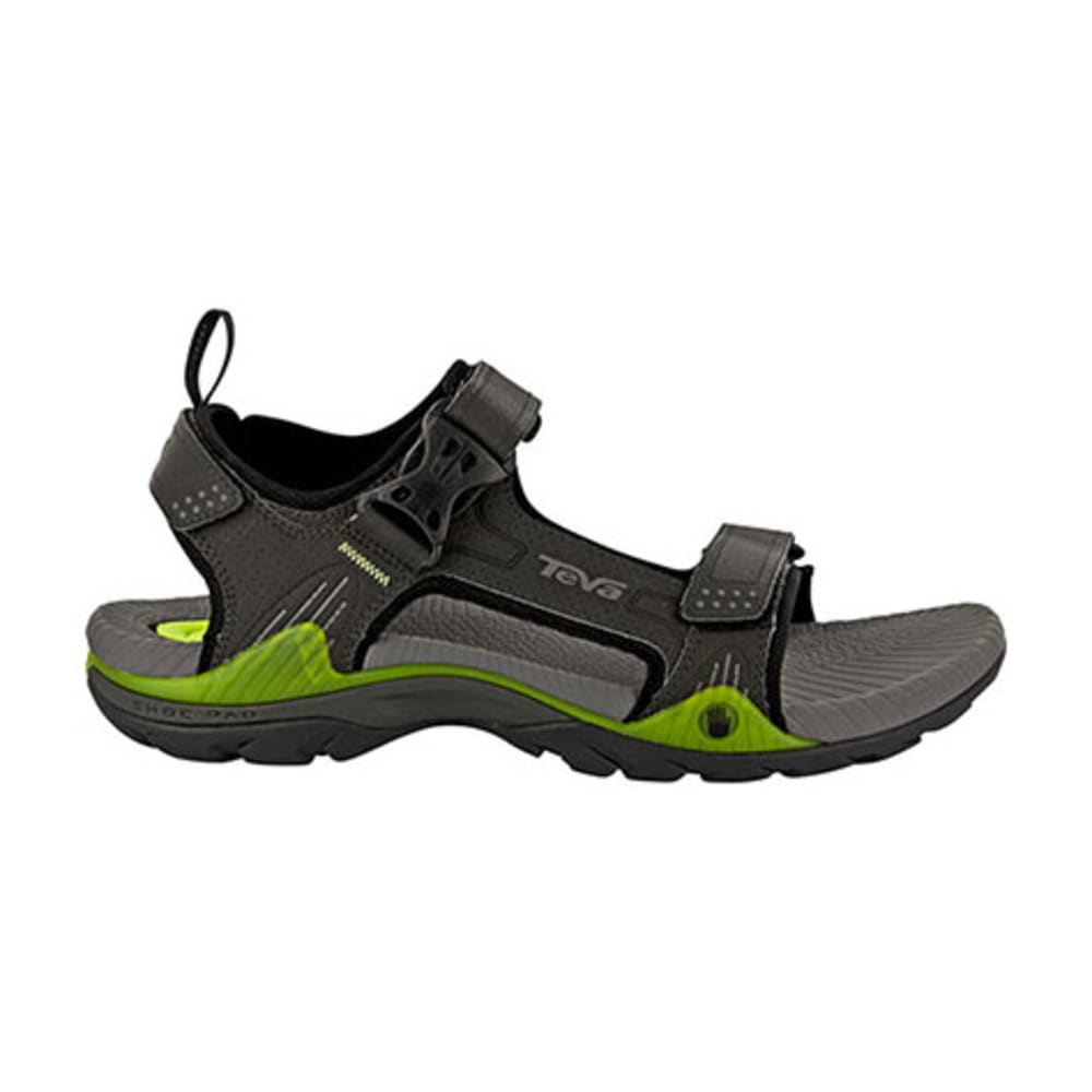 TEVA Men's Toachi 2 Sandals, Grey - CHARCOAL