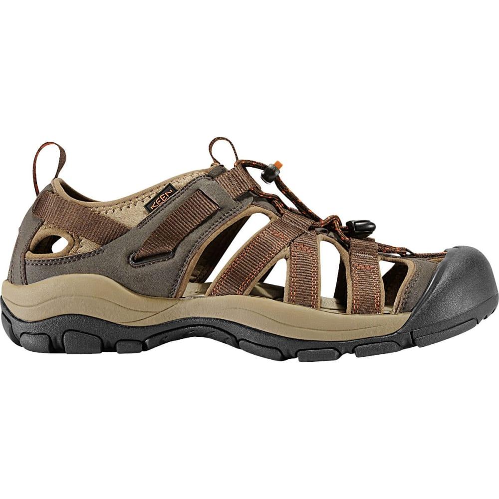 KEEN Men's Owyhee Sandals, Slate Black/Rust - SLATE BLACK