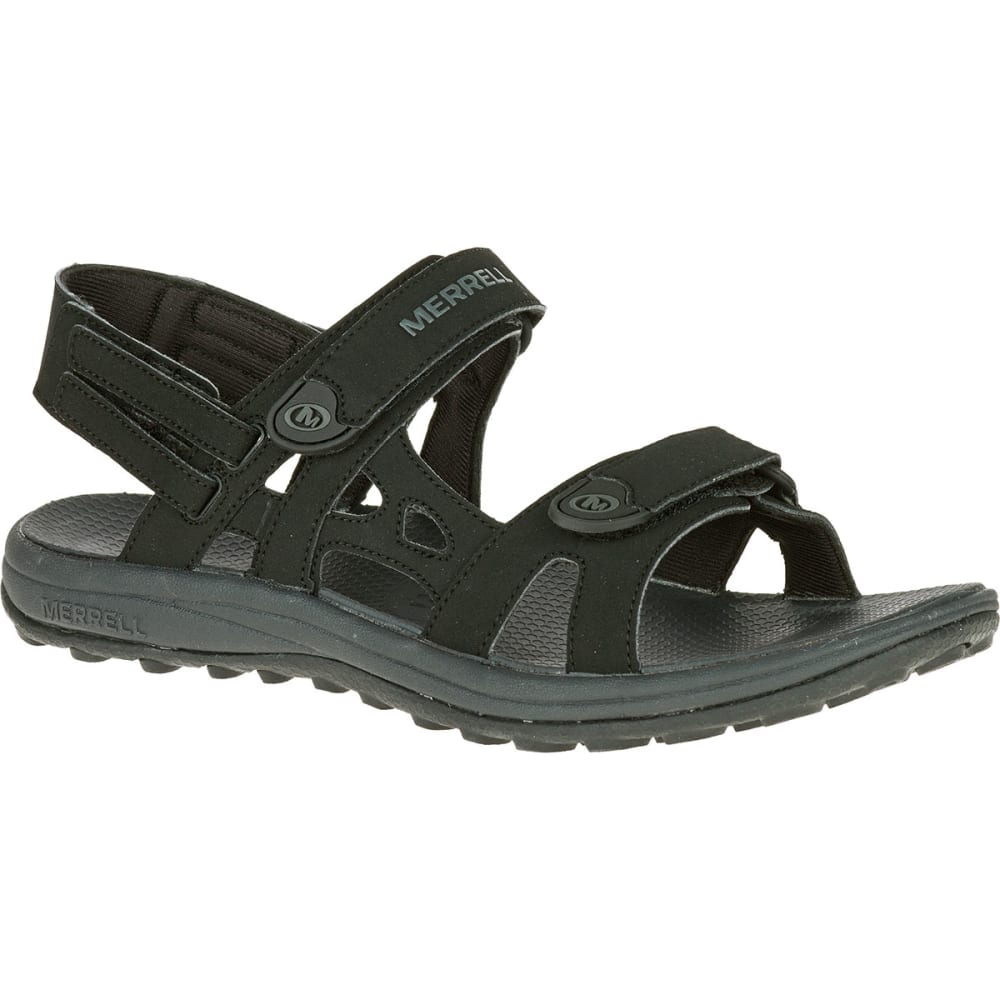 MERRELL Men's Cedrus Convertible Sandals - BLACK