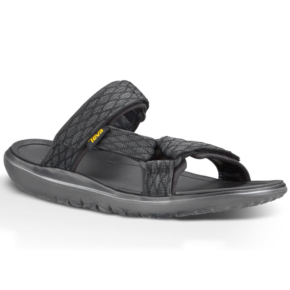 TEVA Men's Terra-Float Slide Sandals - BLACK