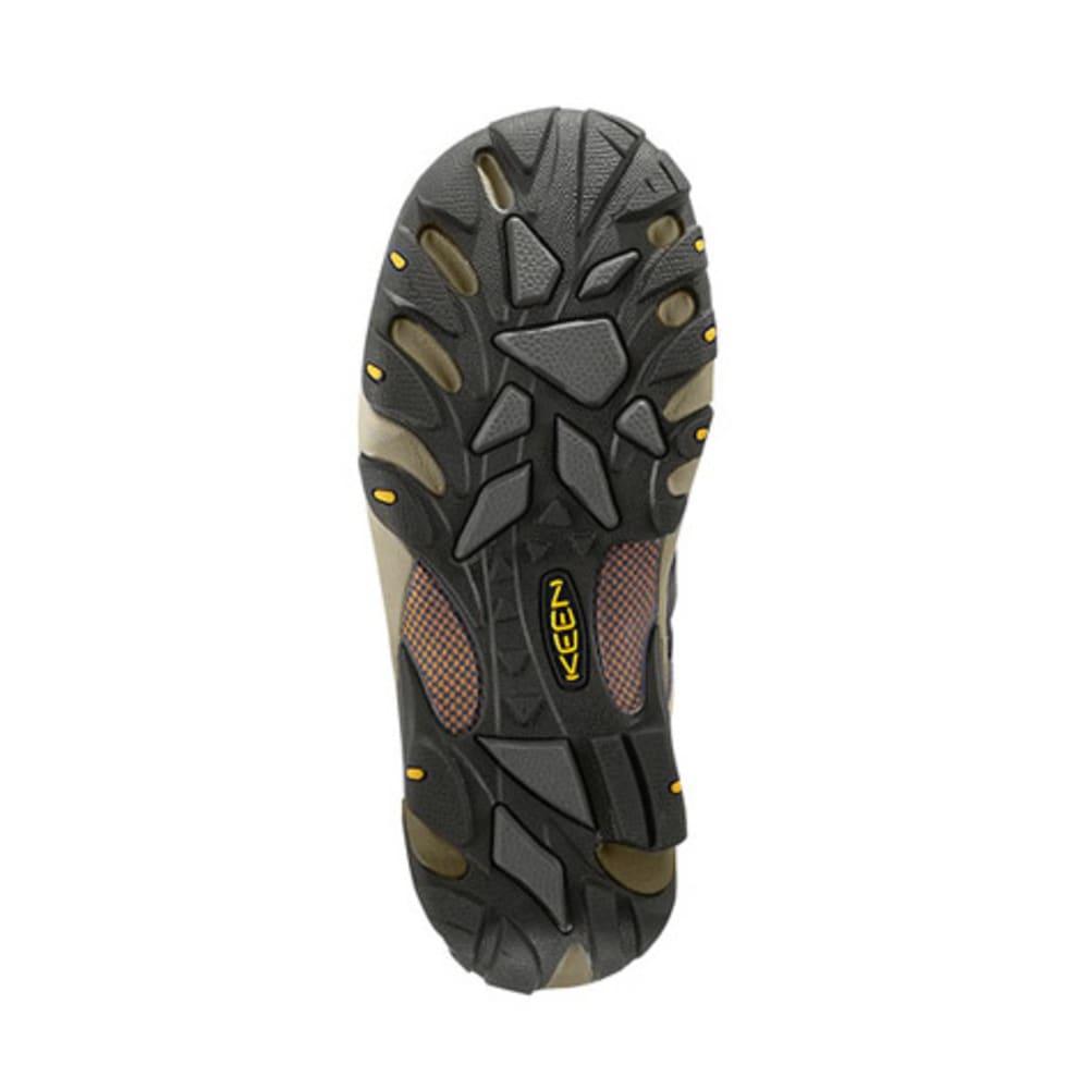 KEEN Men's Voyageur Hiking Shoes - BLACK OLIVE