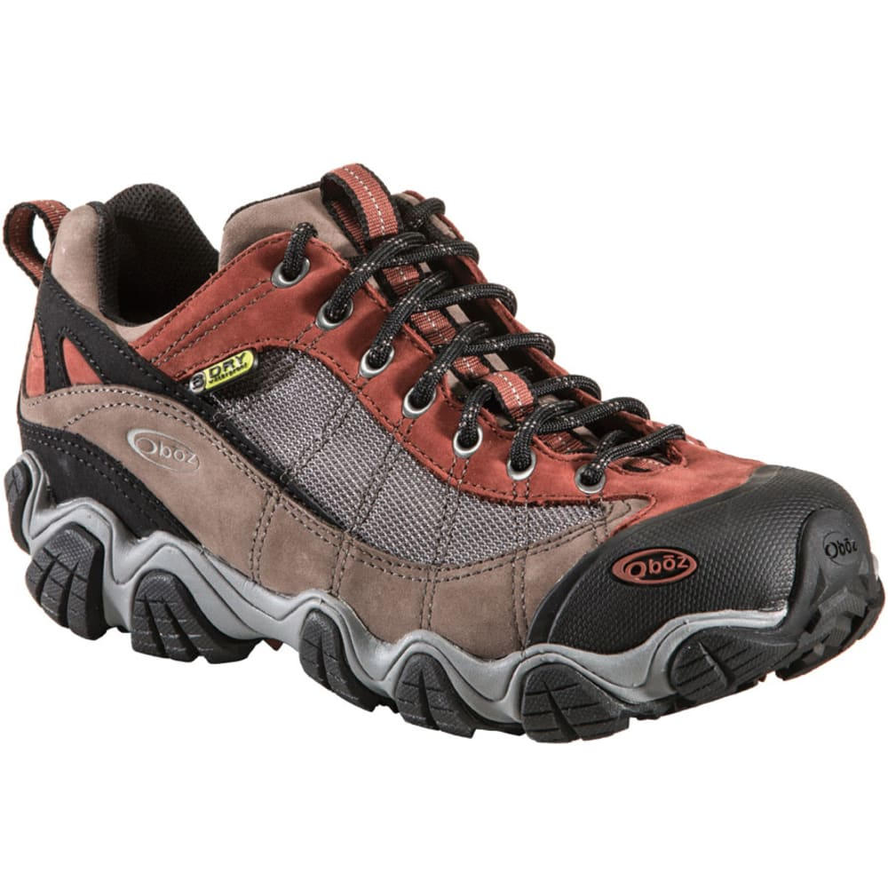 OBOZ Men's Firebrand II BDry Hiking Shoes - EARTH