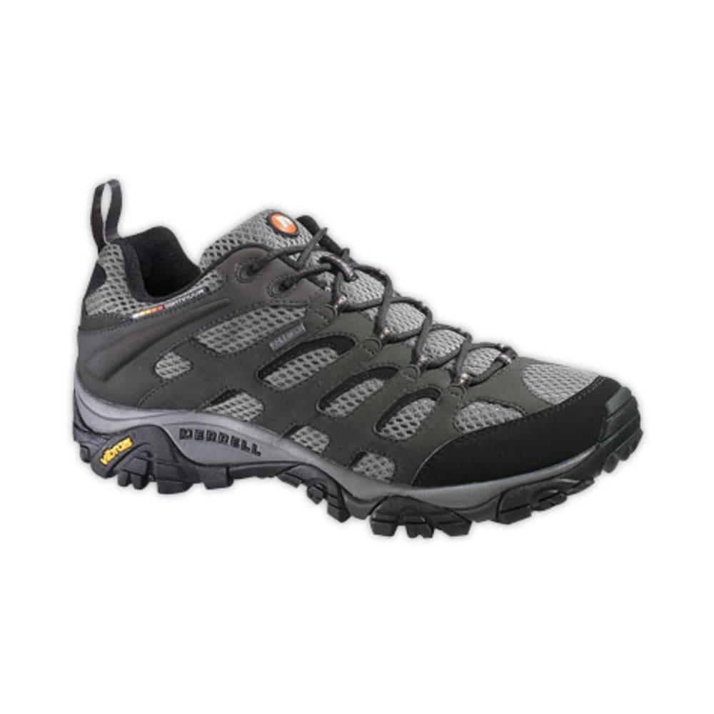 MERRELL Men's Moab GTX Hiking Shoes,Wide - BELUGA