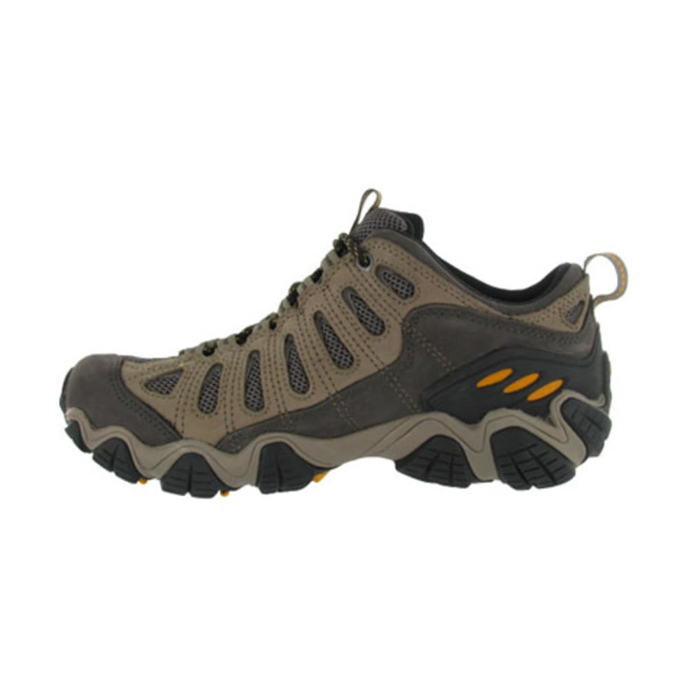 OBOZ Men's Sawtooth Low WP Hiking Shoes - WALNUT