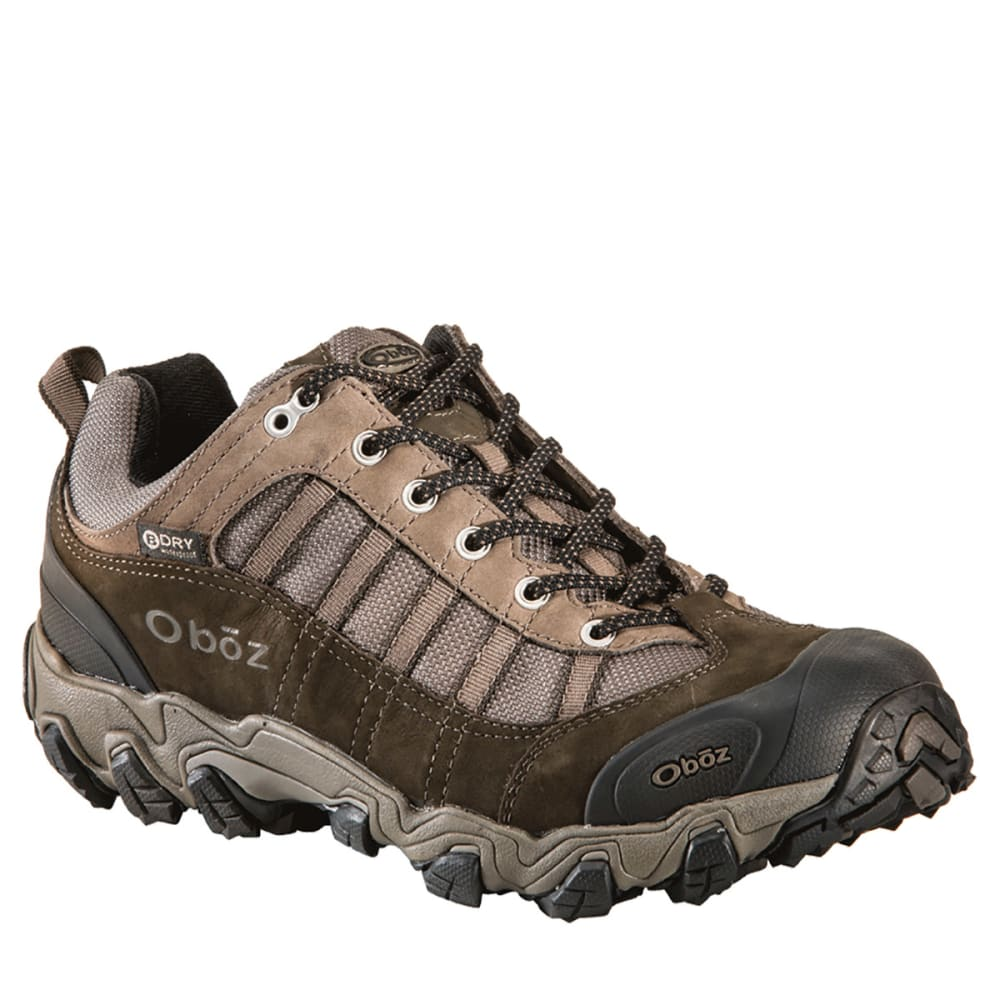 OBOZ Men's Tamarack BDry Hiking Shoes, Wide - BROWN