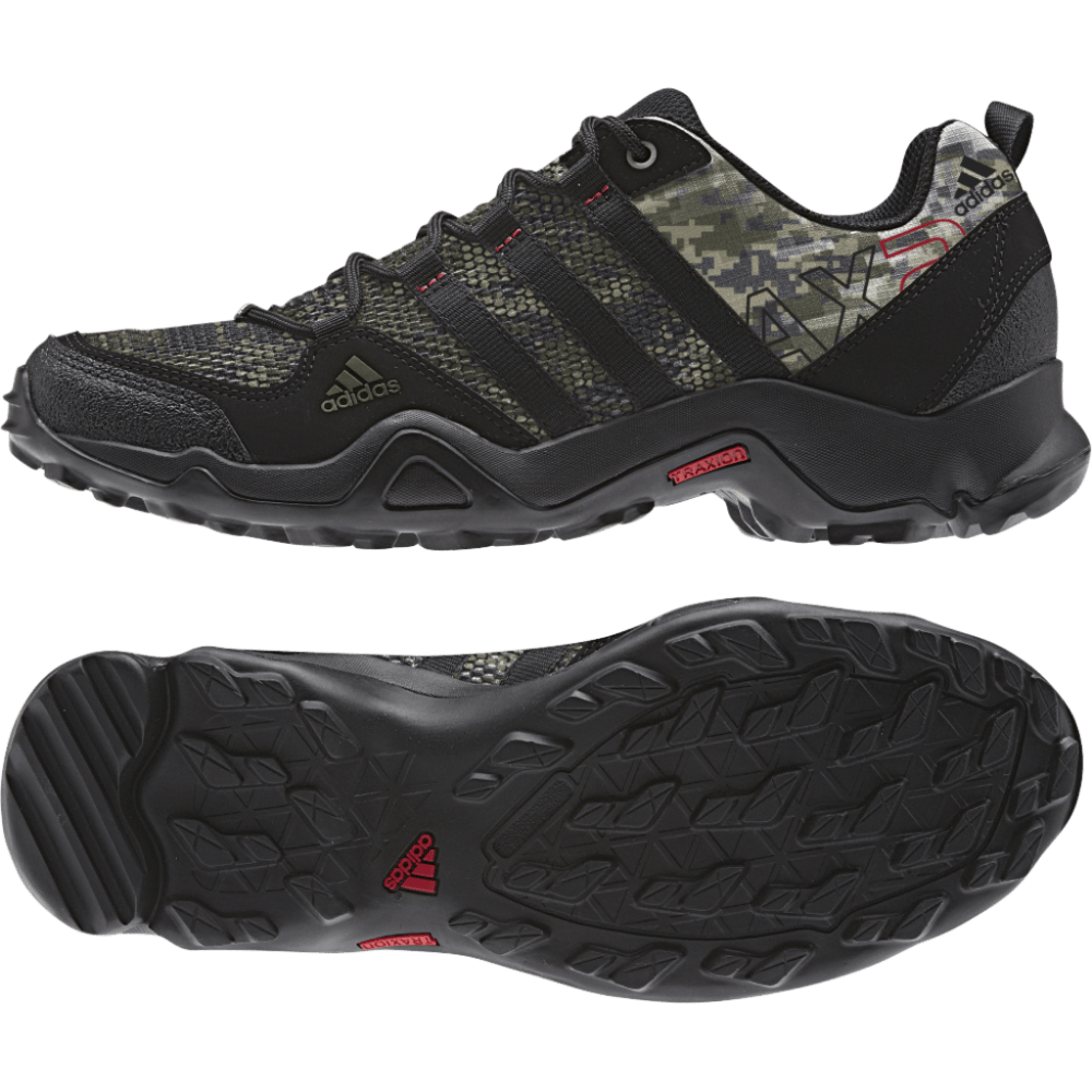 ADIDAS Men's AX 2.0 Hiking Shoes - BLACK PTRND