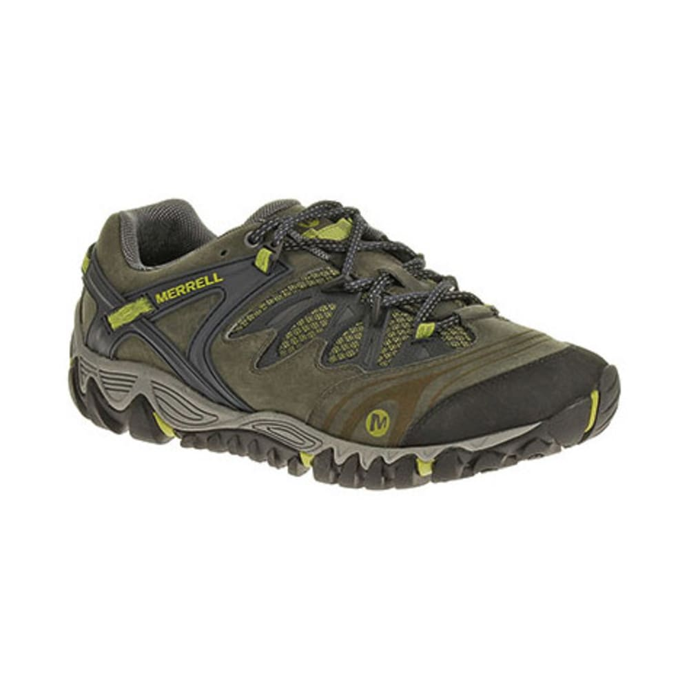 MERRELL Men's All Out Blaze Hiking Shoes, Navy/Moss - NAVY