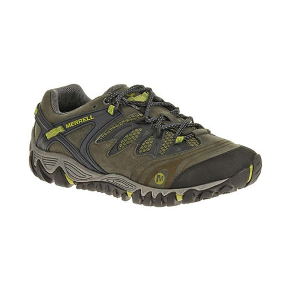 MERRELL Men's All Out Blaze Hiking Shoes, Navy/Moss - NAVY