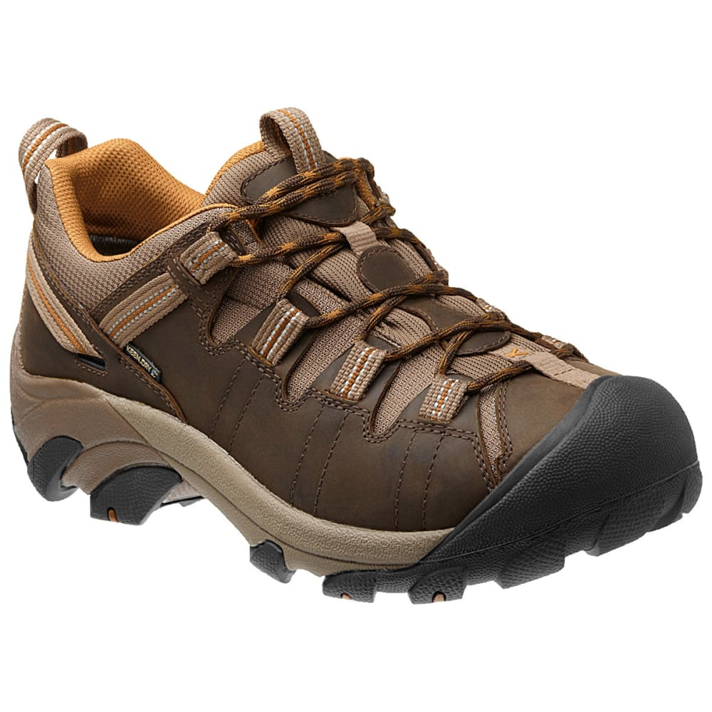 KEEN Men's Targhee II Waterproof Hiking Shoes - CASCADE