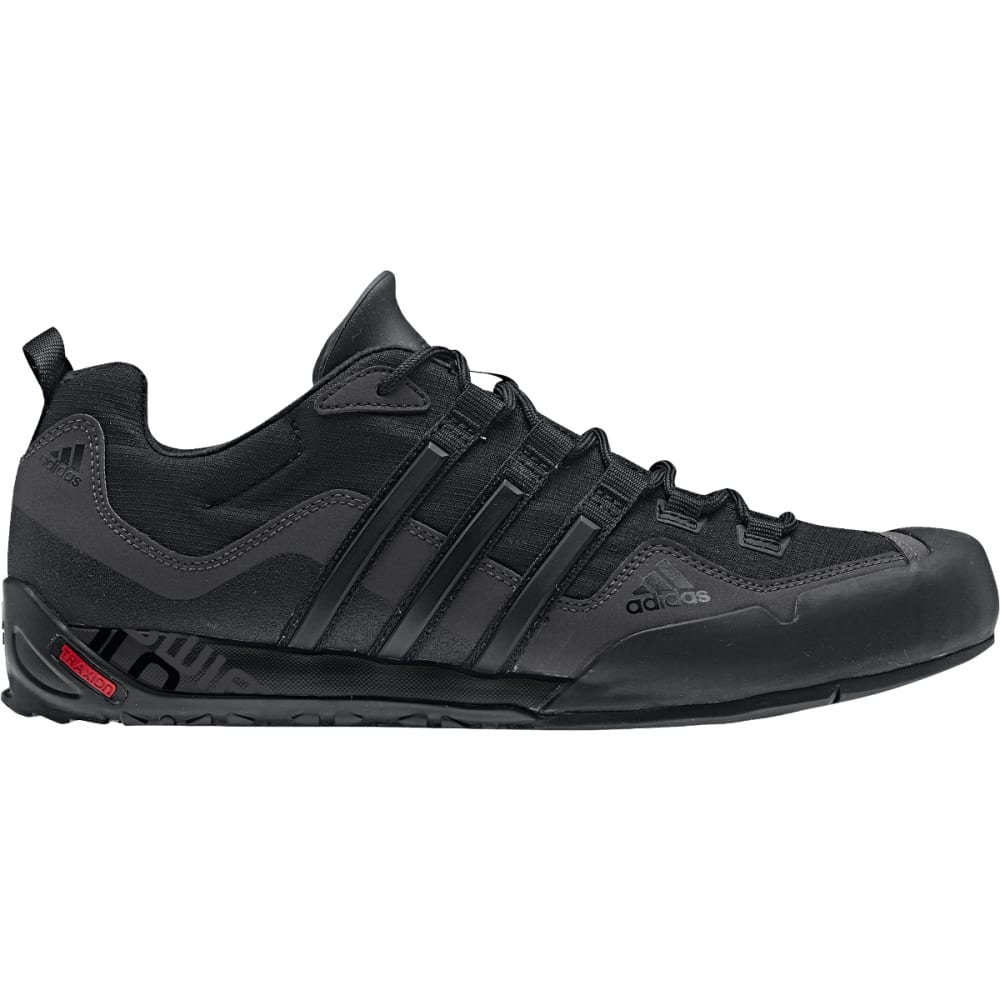 ADIDAS Men's Terrex Swift Solo Hiking Shoes, Black - BLACK