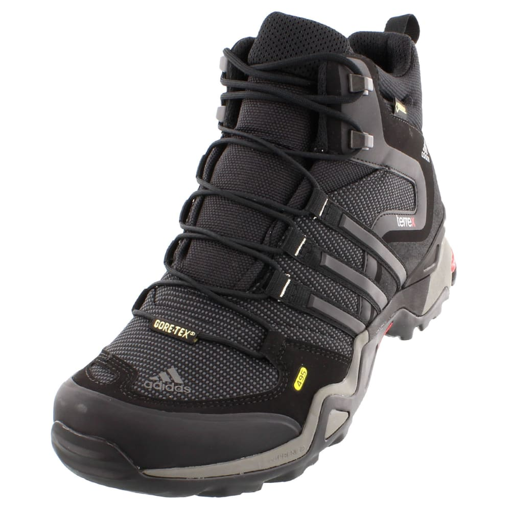 adidas men 39 s terrex fast x mid gtx hiking boots carbon. Black Bedroom Furniture Sets. Home Design Ideas