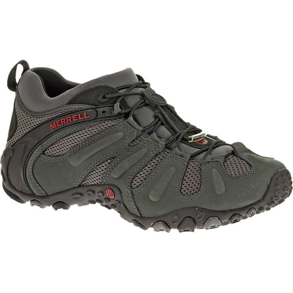 MERRELL Men's Chameleon Prime Stretch Hiking Shoes, Granite - GRANITE