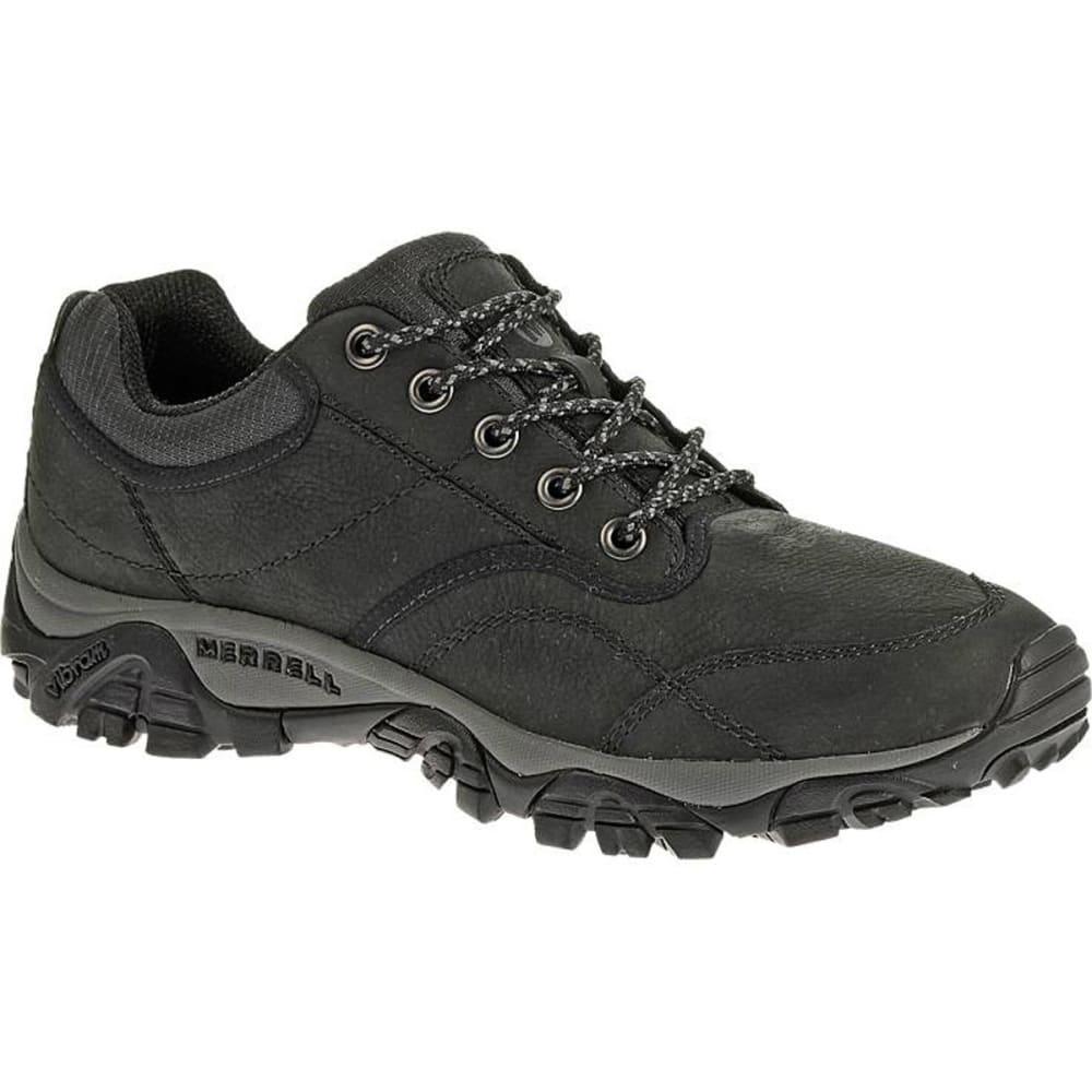 MERRELL Men's Moab Rover Shoes, Black, Wide - BLACK