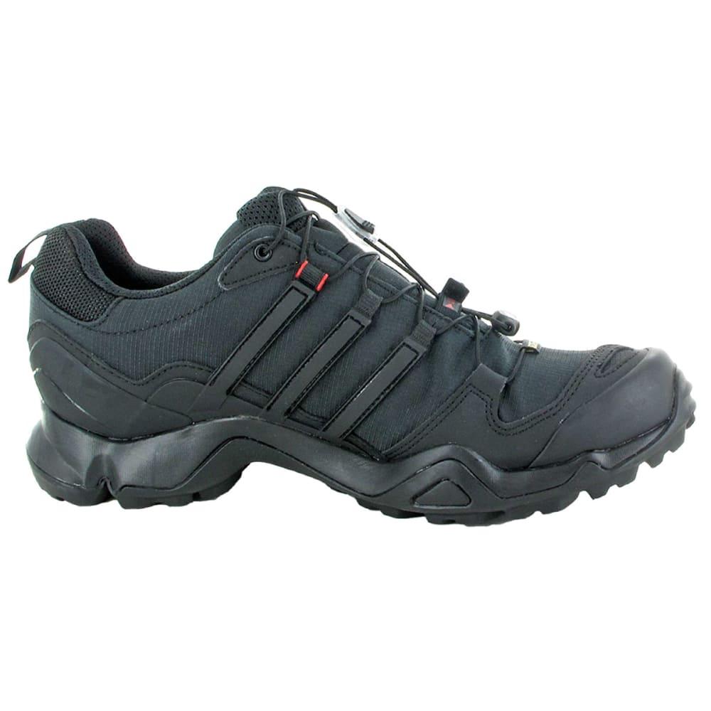 ADIDAS Men's Terrex Swift R GTX Hiking Shoes, Black/Vista Grey - GREEN