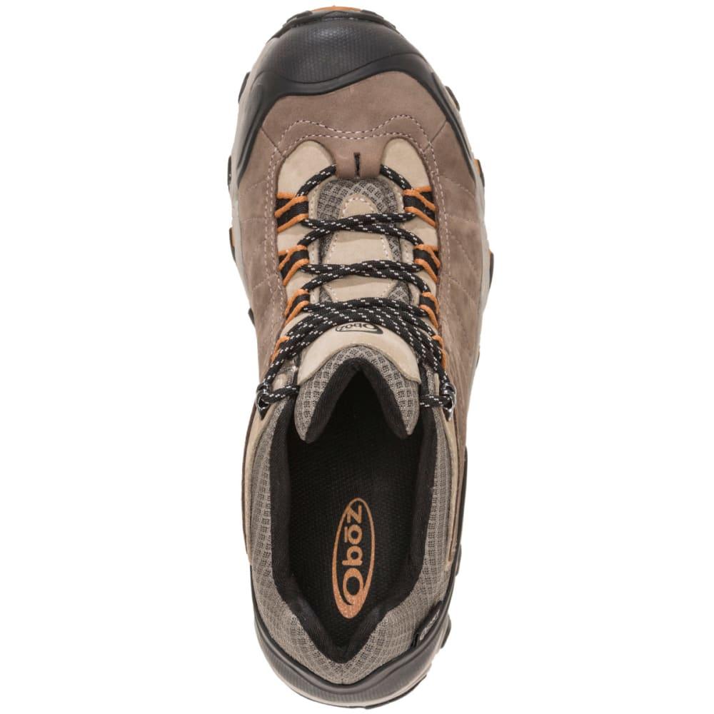 OBOZ Men's Bridger Low B-Dry Hiking Shoes - WALNUT