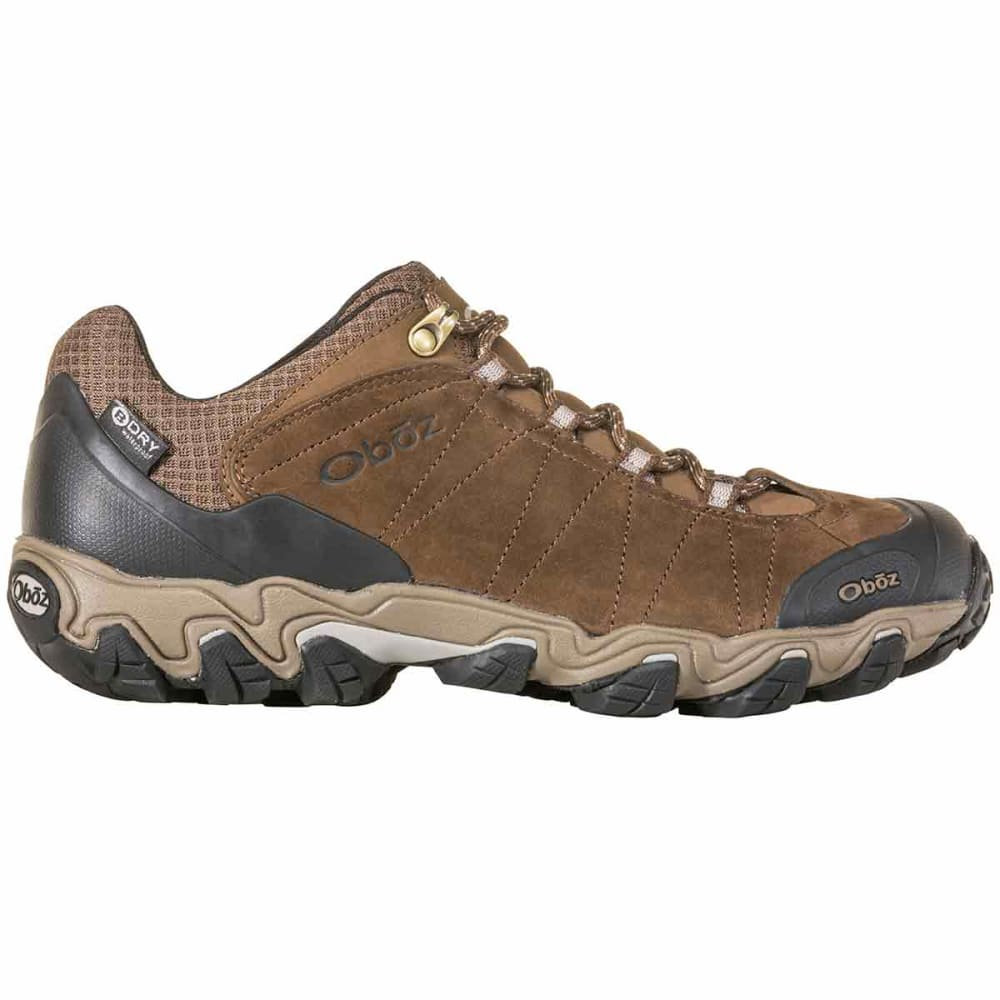 OBOZ Men's Bridger Low B-Dry Hiking Shoes - CANTEEN BROWN