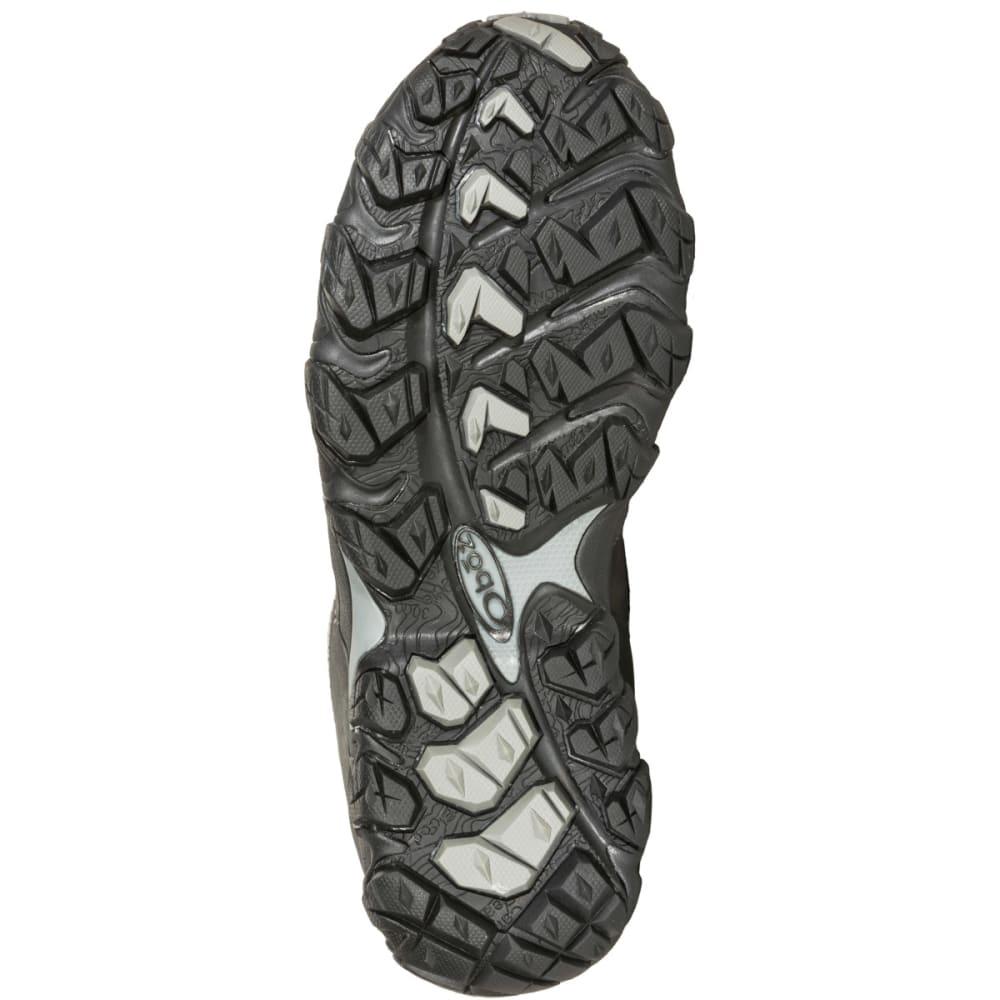 OBOZ Men's Bridger Low BDry Hiking Shoes, Dark Shadow - DARK SHADOW
