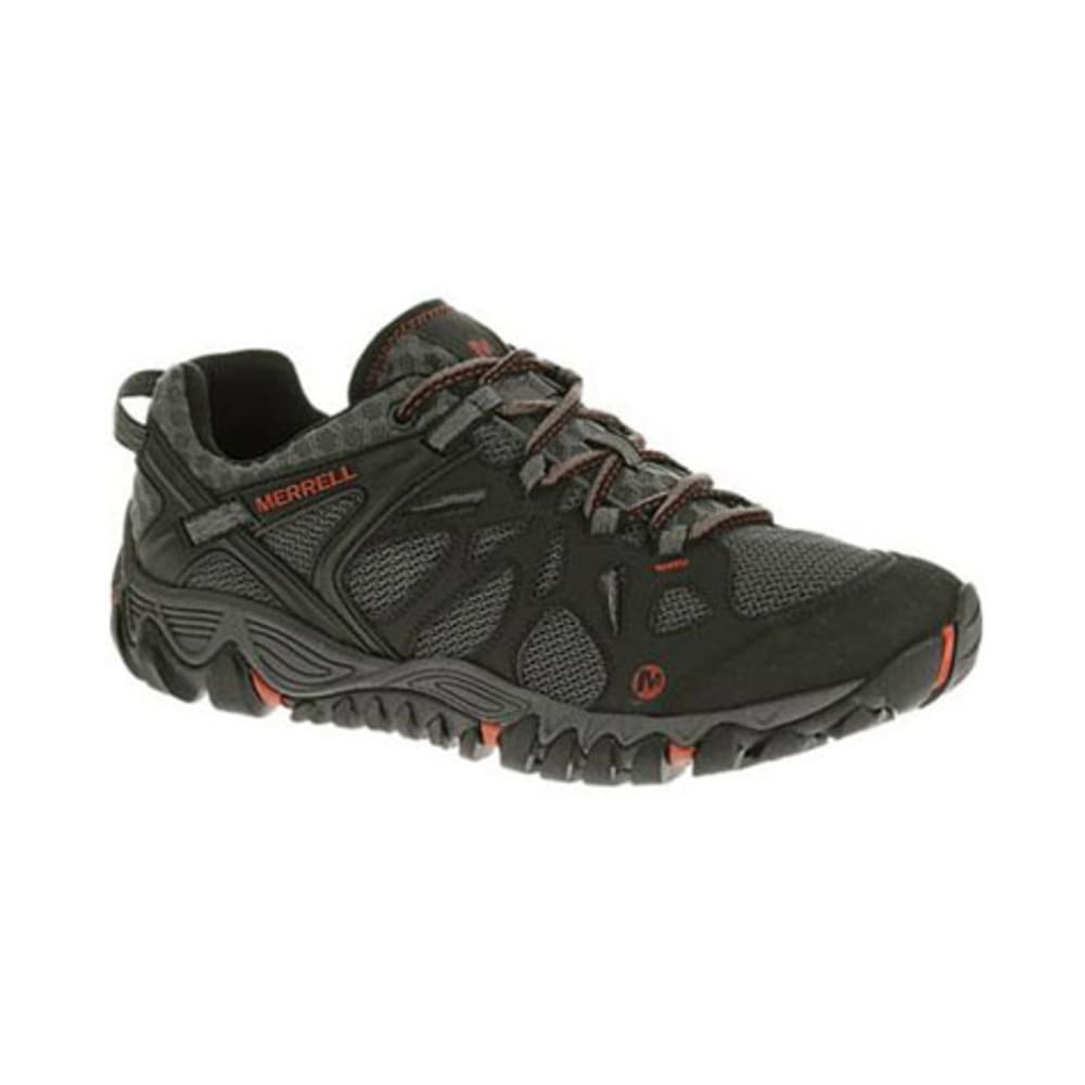 MERRELL Men's All Out Blaze Aero Sport Hiking Shoes, Black/Red - BLACK/RED