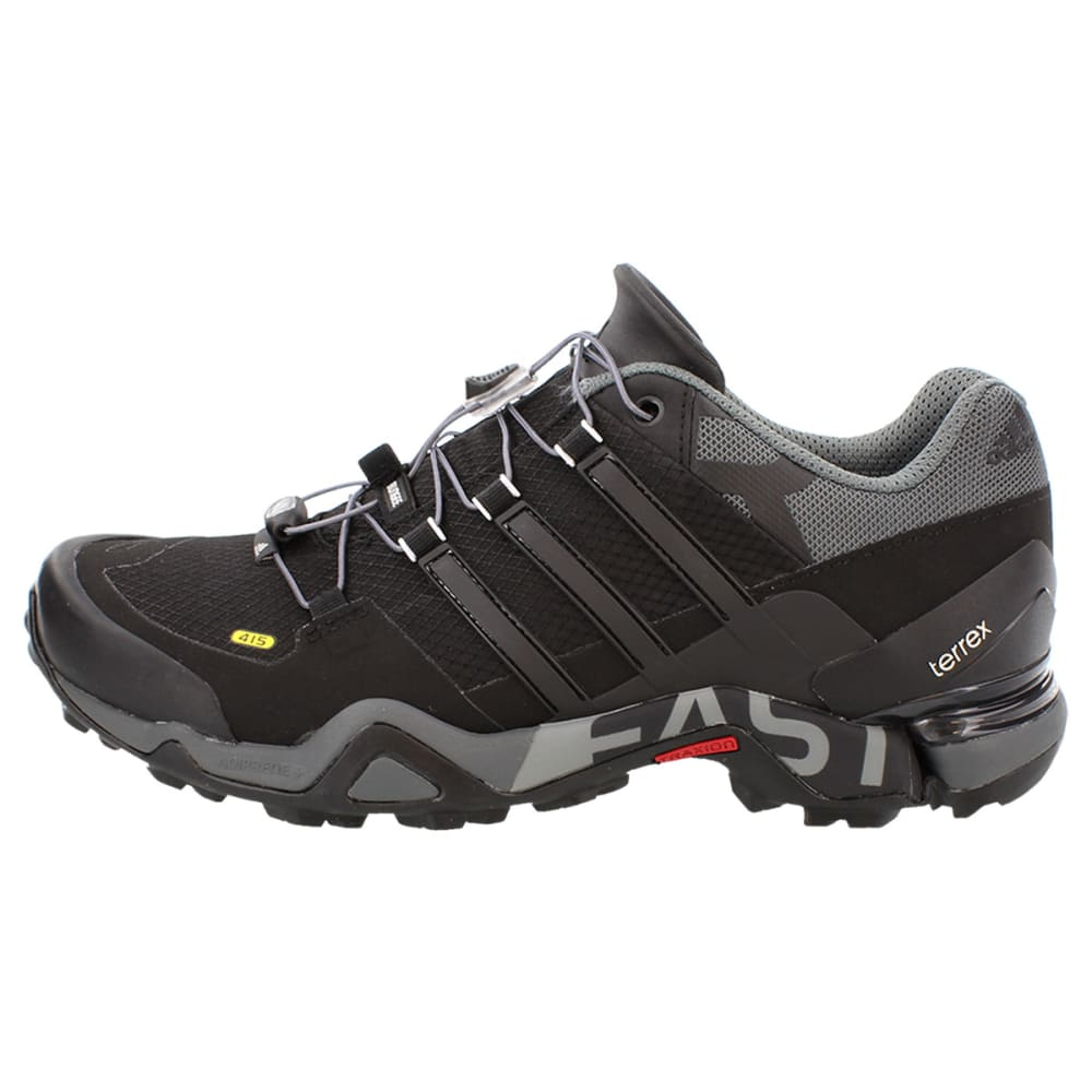 ADIDAS Men's Terrex Fast R Shoes - BLACK/VISTA GREY/WHI