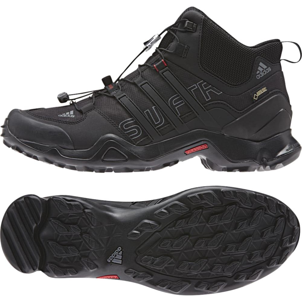 ADIDAS Men's Terrex Swift R Mid GTX Shoes - BLACK/VISTA GREY/POW