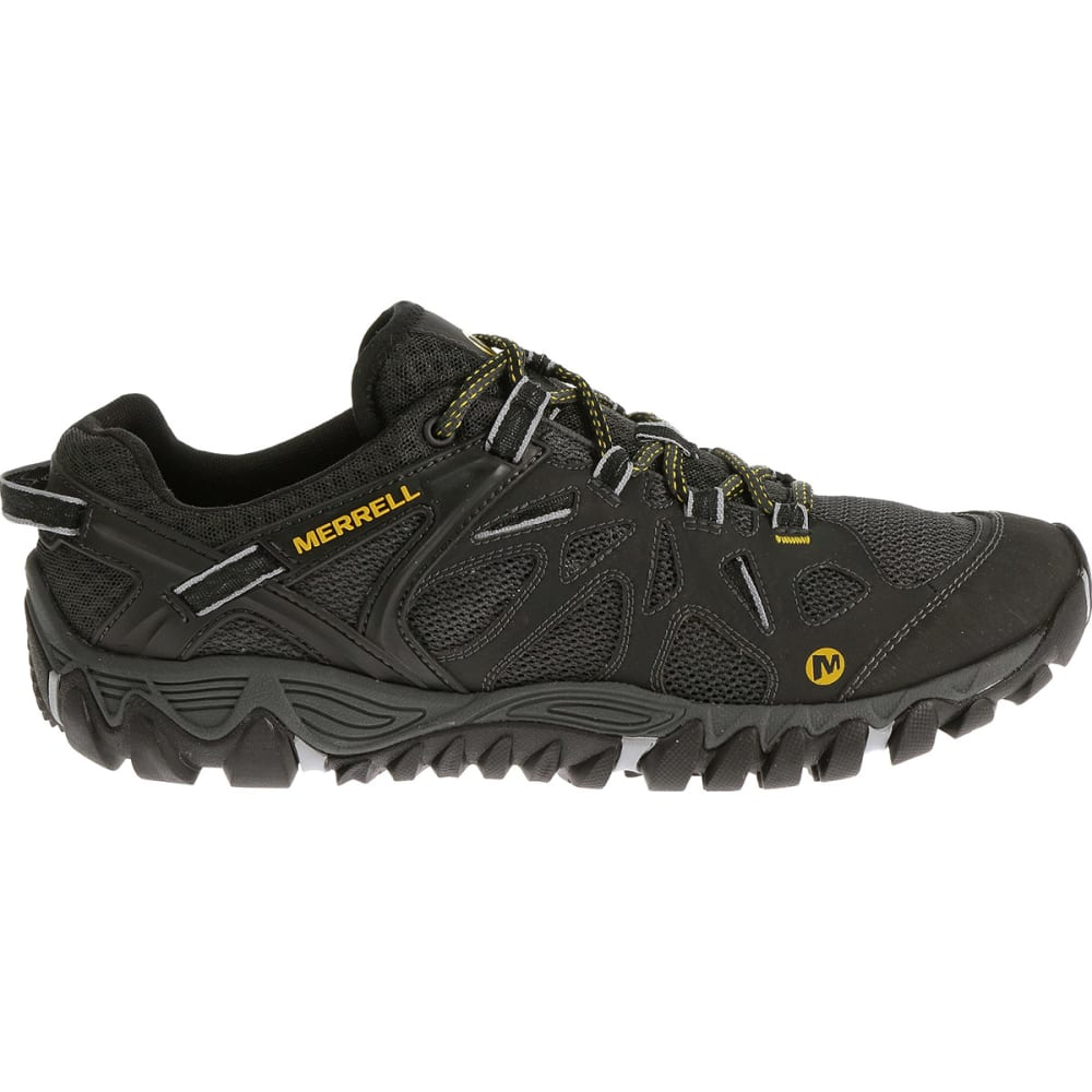 MERRELL Men's All Out Blaze Aero Sport Hiking Shoes, Black - BLACK