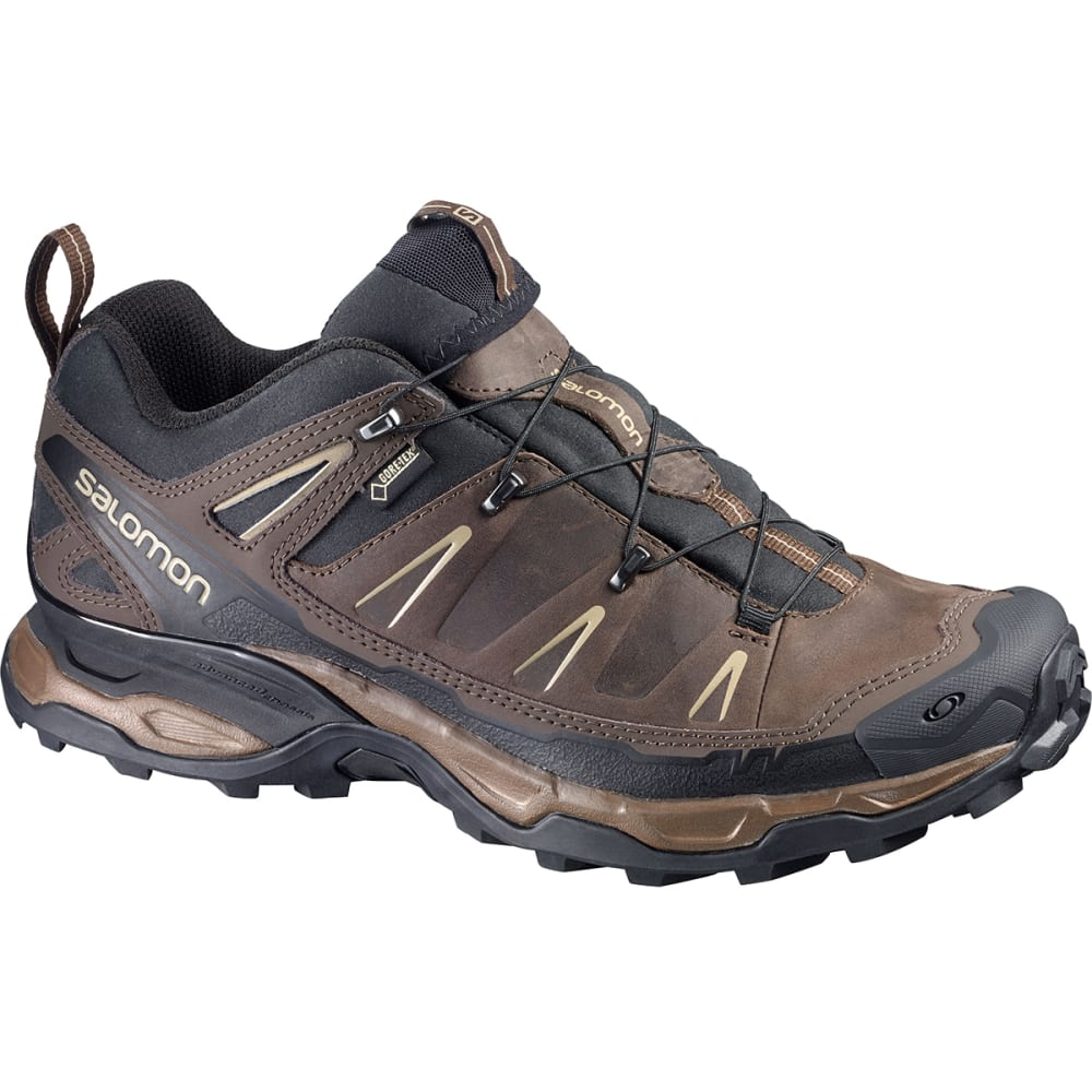 SALOMON Men's X Ultra LTR GTX Hiking Shoes - BROWN