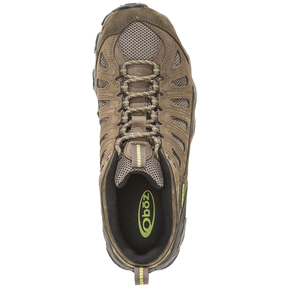 OBOZ Men's Sawtooth Low Hiking Shoes, Umber - BROWN
