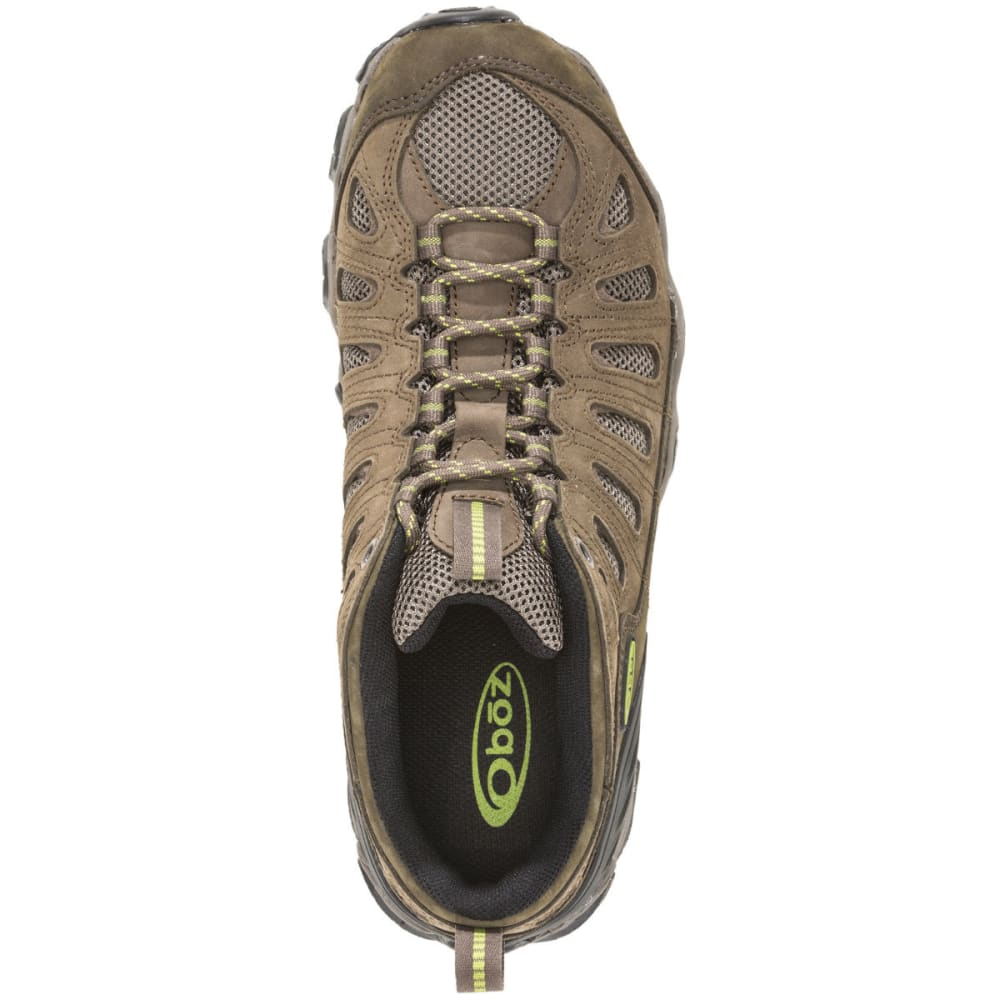 OBOZ Men's Sawtooth Low Hiking Shoes, Wide, Umber - BROWN