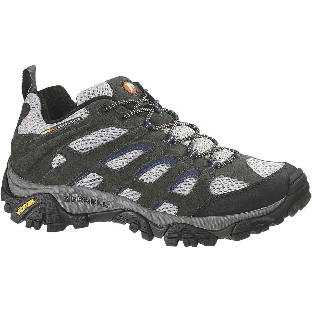 MERRELL Men's Moab Ventilator Hiking Shoes - BELUGA