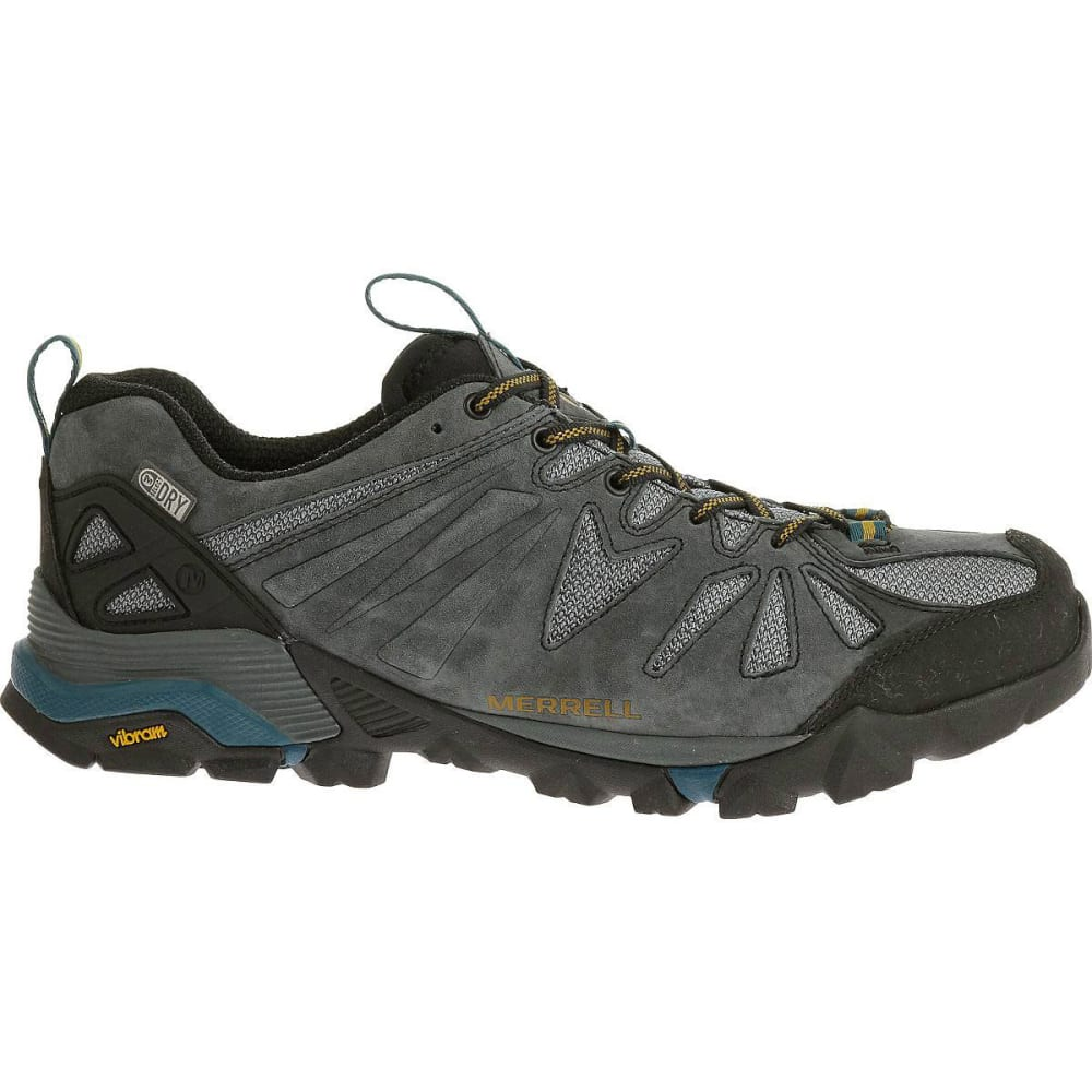 MERRELL Men's Capra Low Waterproof Hiking Shoes - GREY