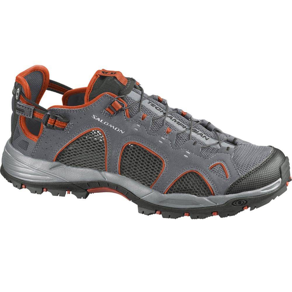 best authentic 9bb09 58b55 SALOMON Men's Techamphibian 3 Water Shoes, Pewter/Asphalt